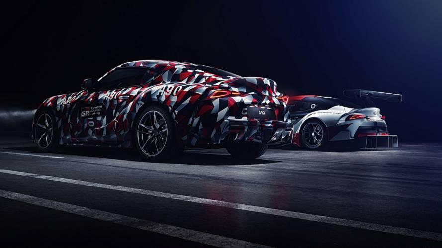 Toyota prezanton modelin Supra bashkë me shtresën e kamuflazhit…