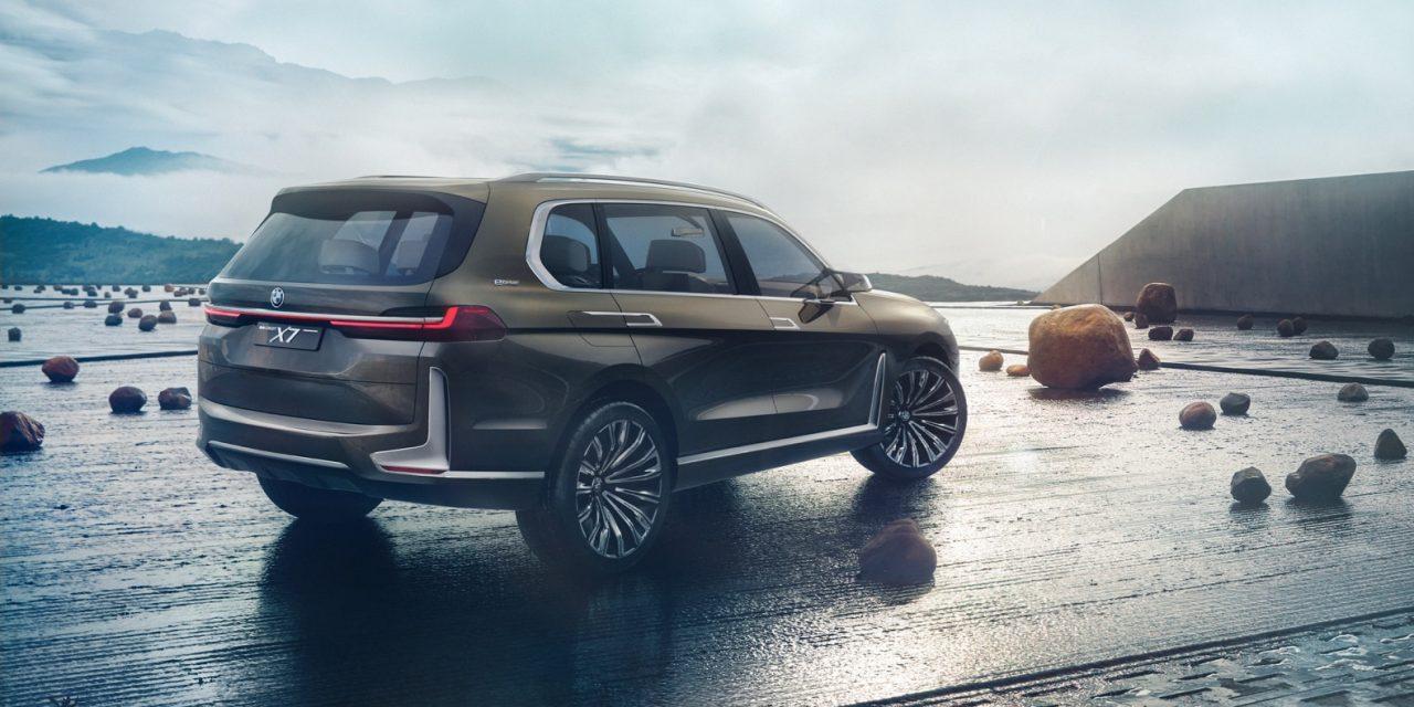 BMW X7 do të lançohet gjatë tetorit në Paris Motor Show
