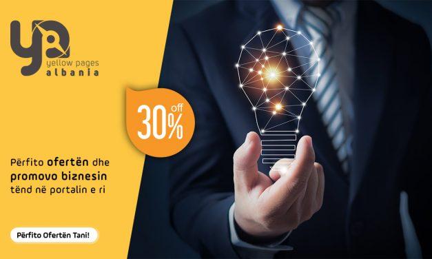 Si të promovosh biznesin me Platformën e re Yellow Pages? (30% OFF)