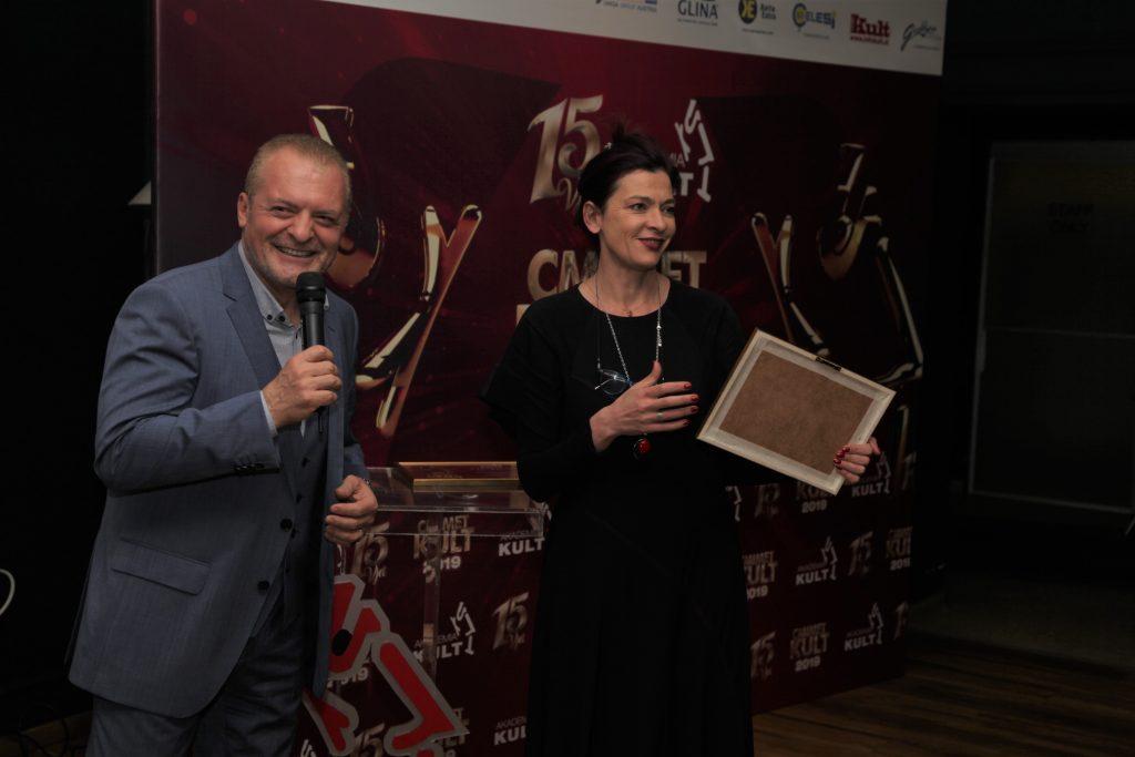 """çmimet Kult - artistët fitues të çmimeve Kult REGJIA E VITIT: Ema Andrea me """"Natën, Má!"""""""
