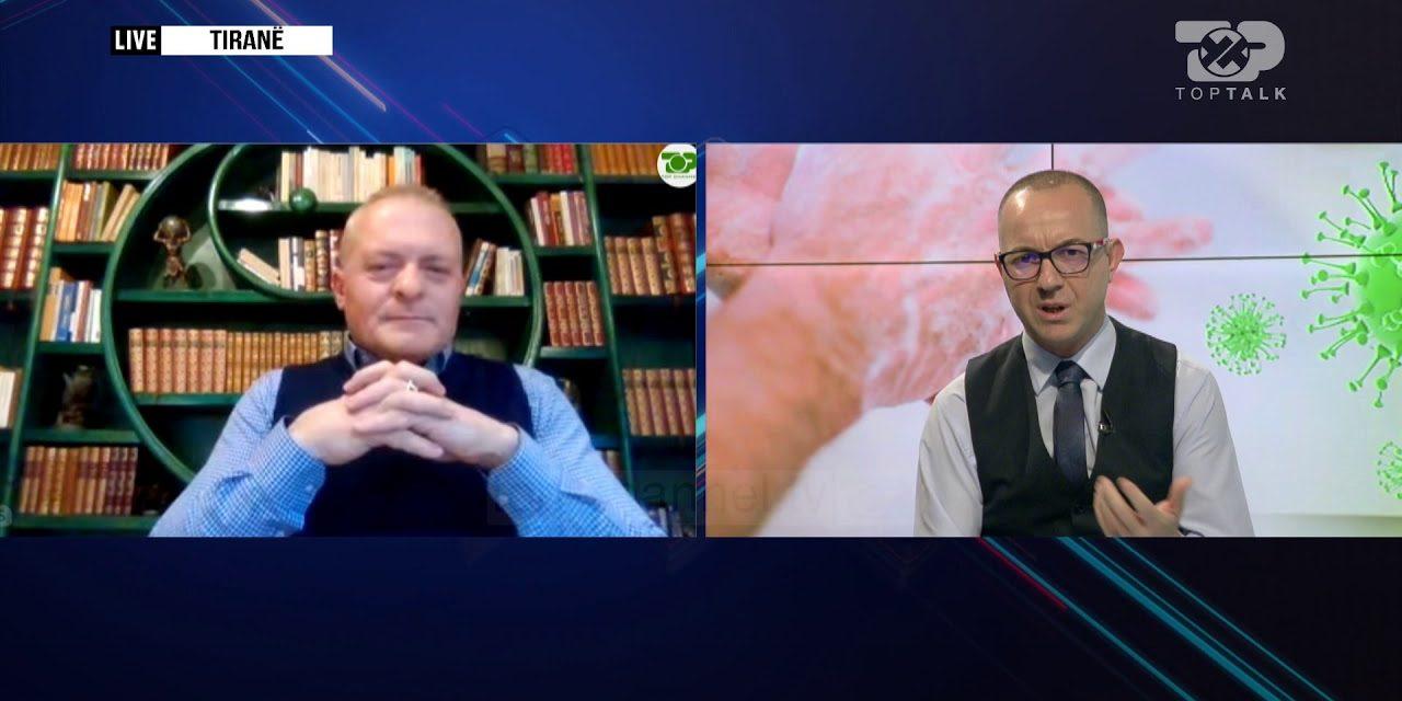"""Nisma """"Solidaritet përballë pandemisë"""" dhe CEO i Çelësi Media Group në Top Talk"""