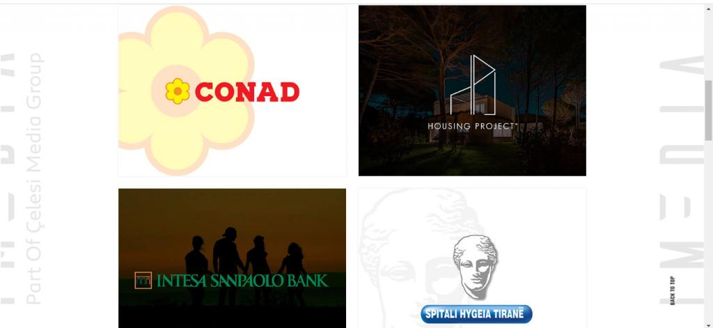 imedia website rebrand