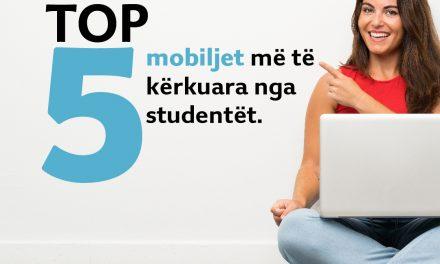 Ja 5 mobiljet mëtëblera ngastudentëtkëtë javë: Tavolinë mermeri, bibliotekë këndore, etj.