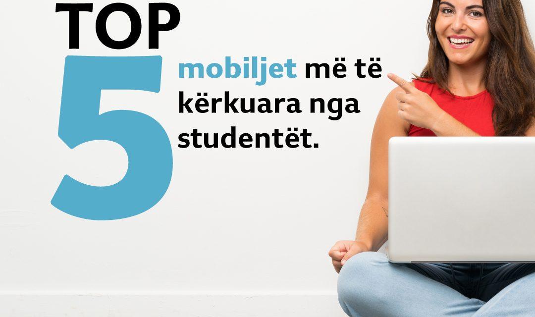 Ja 5 mobiljet më të blera nga studentët këtë javë: Komedinë druri, krevat tek, dollap me 4 kanata