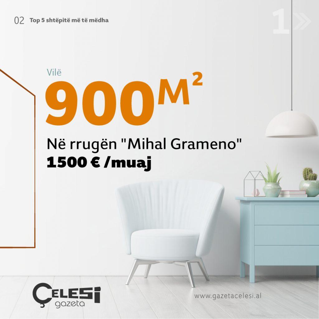 Vilë 4-katëshe 900 M2 e rinovuar sipas standarteve europiane Shtëpi të mëdha