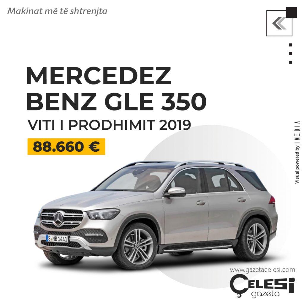 MERCEDEZ BENZ GLE 350 viti i prodhimit 2019 | 88.660 Euro