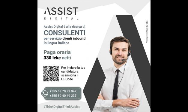 Konsulent për shërbim klienti inbound në gjuhën italiane